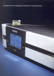 CDP-300 in Home Cinema Choice - Classé Audio