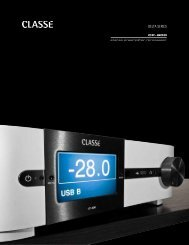 CP-800 Brochure - Classé Audio