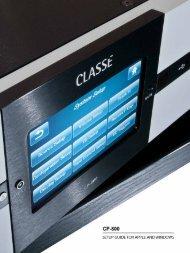 Computer audio, an overview - Classé Audio
