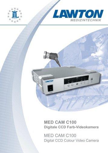 Digitale CCD Farb-Videokamera MED CAM C100 - Efe
