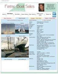 Brigantine 21 m Schooner - Farine Boat Sales