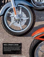 wheels, sprockets rotors - Harley-Davidson