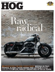 HOG - Harley-News
