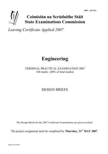 10 years publicationpdf leaving certificate applied the engineering practical brief 07pdf leaving certificate applied yadclub Gallery