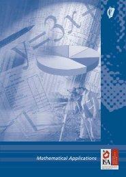Mathematical Applications - PDST
