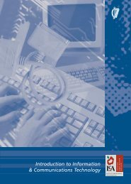 Introduction to Information & Communications Technology - PDST