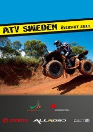 atv sweden oversikt 2011