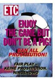 FAIR PLAY – KEINE PROSTITUTION. NIRGENDWO