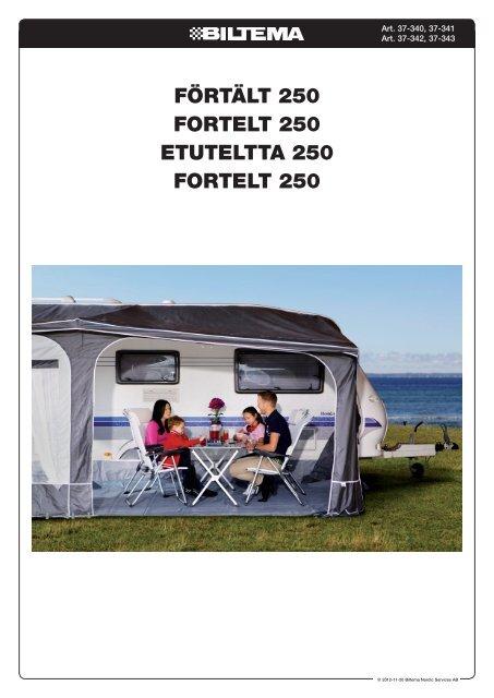 Förtält 250 Fortelt 250 etuteltta 250 Fortelt 250 - Biltema