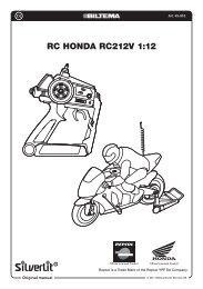 RC HONDA RC212V 1:12 - Biltema