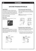 SäkerhetSbox med fingeravtryckSlåS Safe med ... - Biltema - Page 4
