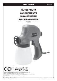 Färgspruta Lakksprøyte MaaLiruisku MaLersprøjte - Biltema