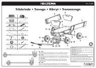 Träskrinda • Trevogn • Kärryt • Tremmevogn - Biltema