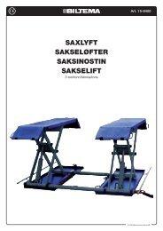 saxlyft sakseløfter saksinostin sakselift - Biltema