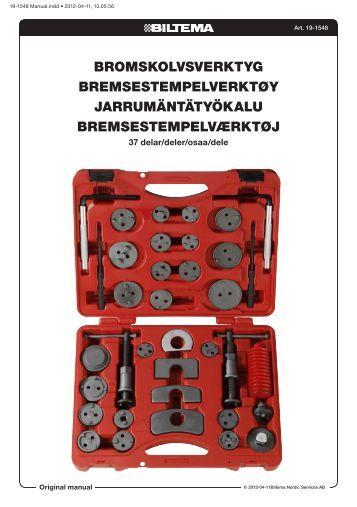 bromskolvsverktyg