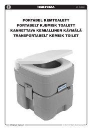 portabel kemtoalett portabelt kjemisk toalett kannettava ... - Biltema