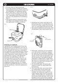 portabel kemtoalett portabelt kjemisk toalett kannettava ... - Biltema - Page 4