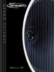 Tannoy Dimension Sales Brochure - Dr Hi-Fi House Calls