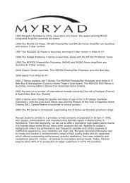 1995 Myryad is founded by Chris, Dave and Lynn Evans. The award ...