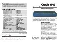 Creek A43