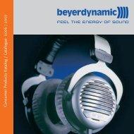 C o nsumer Products Katalog / C atalogue 2006 / 2007