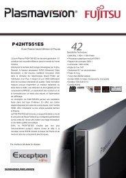 P42HTS51ES - Jefferson Hifi