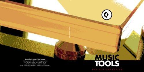 Music Tools Audio Living Design ... - Jefferson Hifi