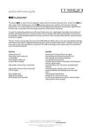 product information guide - Jefferson Hifi