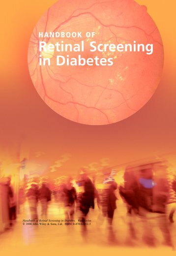 HANDBOOK OF Retinal Screening in Diabetes