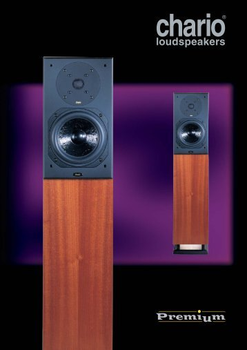 Premium 2000 Tower - Platan Audio