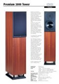 Premium 2000 Tower - Platan Audio - Page 7