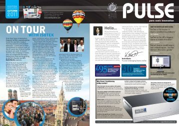 PULSE Autumn 2011 - IsoTek Systems