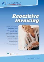 Repetitive Invoicing - HansaWorld