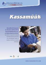 Kassamüük - HansaWorld
