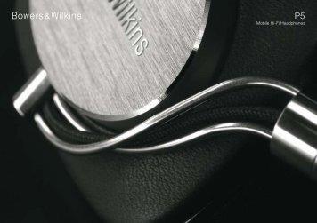 P5 Brochure - Bowers & Wilkins