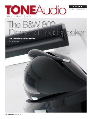 The B&W 802 Diamond Loudspeaker - Bowers & Wilkins