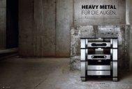 HEAVY METAL FÜR DIE AUGEN. - Audiocostruzioni