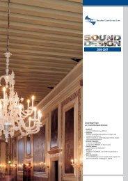 Sound Design Project per il Casinò Municipale di ... - Net-Sat Guidotti