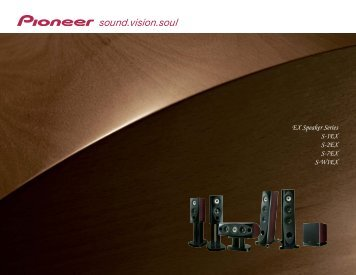 Product Brochure - Pioneer Electronics