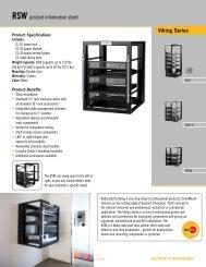 Viking Series RSW product information sheet