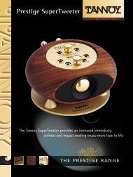 Product brochure - Audio Products Australia