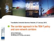 ANNUAL CONFERENCE OF EUROPEAN RAIL ... - TransBaltic