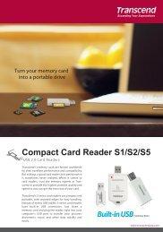 EDM-cardreader s series2711-1 - Transcend