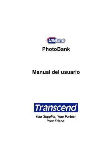 USB 2 - Transcend