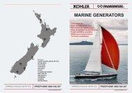 KOHLER Marine Generators - TransDiesel