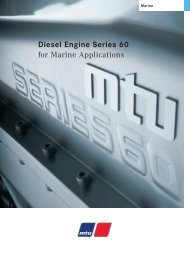 Diesel Engine Series 60 - for Marine Applications - TransDiesel
