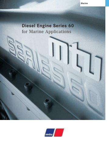 Diesel Engine Series 60 - for Marine Applications - TransDiesel