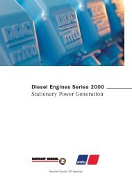 Diesel Engines Series 2000 Stationary Power ... - TransDiesel