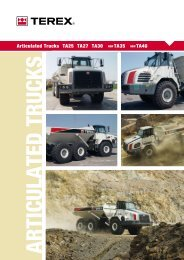 Articulated Trucks TA25 TA27 TA30 new TA35 new ... - TransDiesel