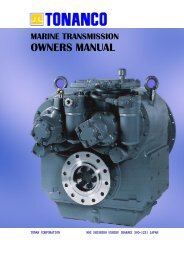 marine transmission owners manual - TransDiesel